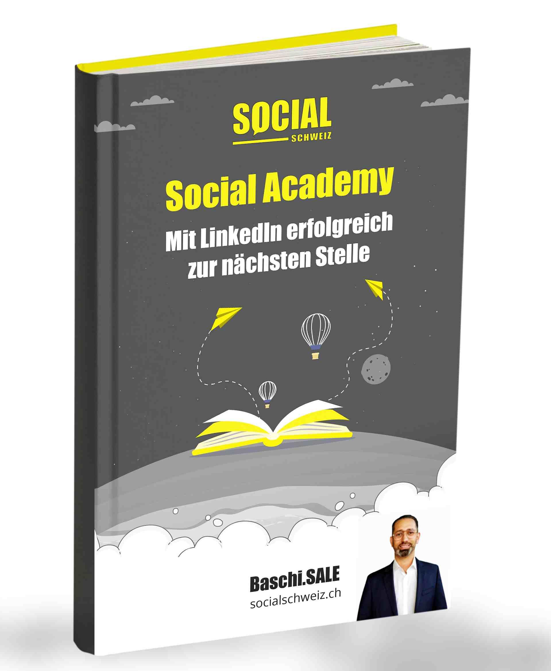 Erweitere dein Social Selling und LinkedIn Wissen mit dem Buch von Social Schweiz.