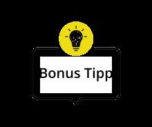 bonus tipp